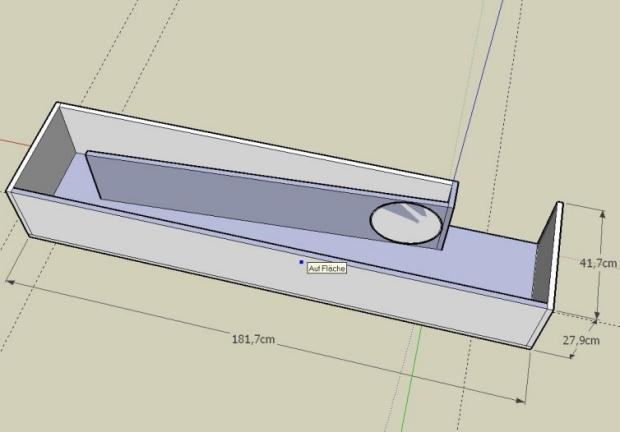 Размеры заготовок рупорного сабвуфера