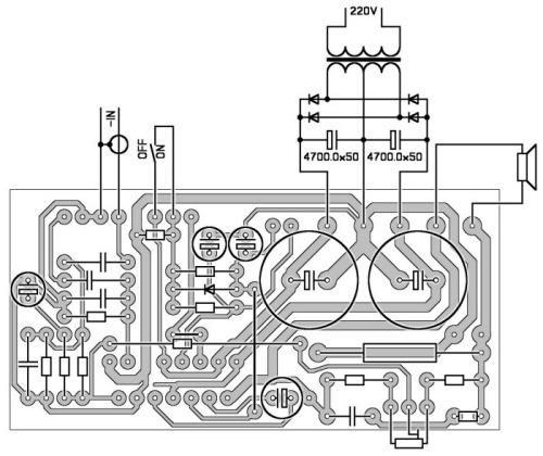 TDA 7293 с возможностью