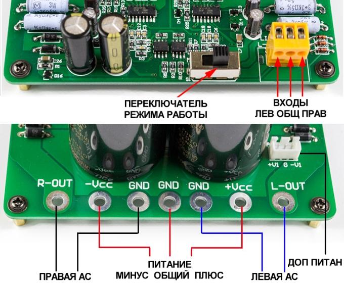 Усилитель класса D 3200 ВТ 1 Ом  soundbass