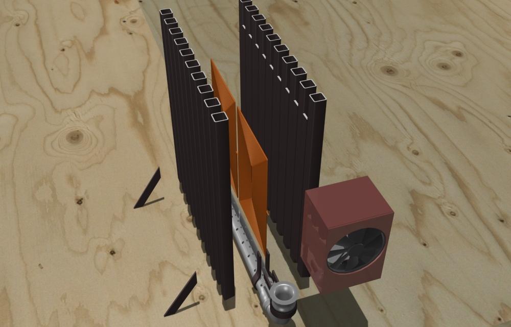 Двухтактный индукционный нагреватель