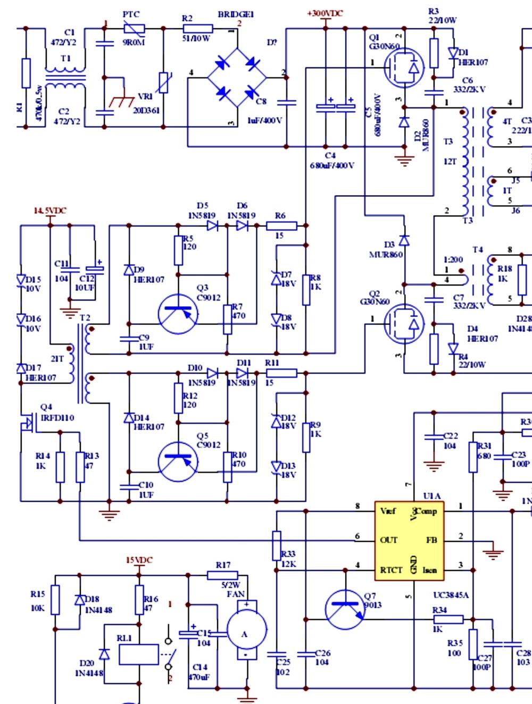 Схема сварочного аппарата ресанта 220 фото 271