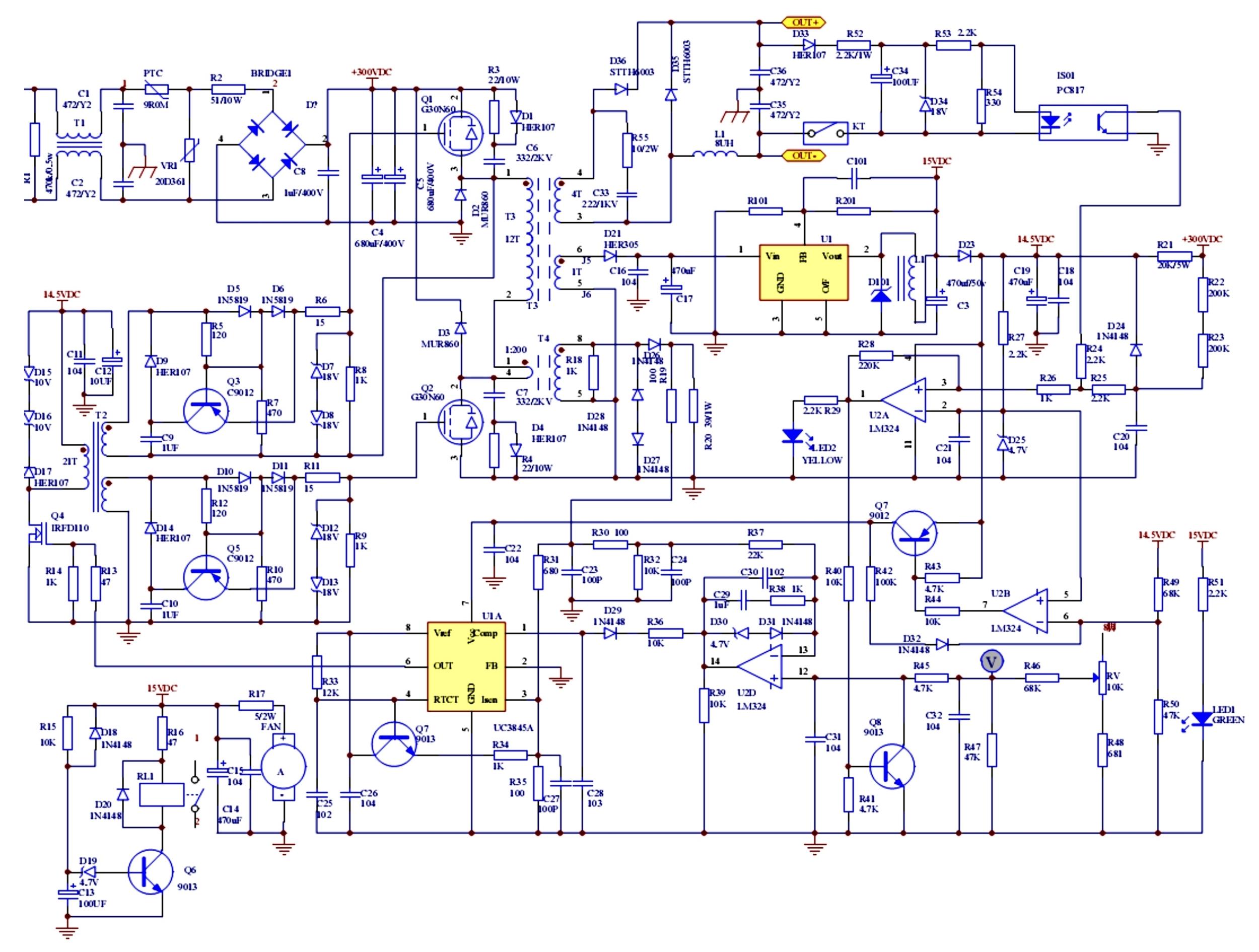Сварочный инвертор ресанта 160 ремонт своими руками 490