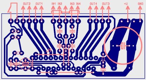 мощности TDA7386 TDA7560