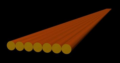 Ленточный жгут для намотки силового трансофрматора импульсного блока питания