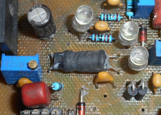 Самодельный оптрон светодиод-фоторезистор