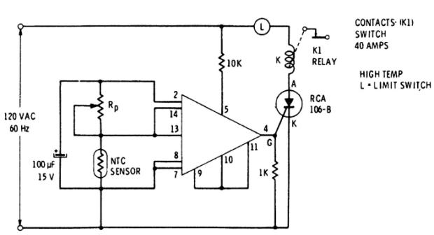 1.3 Схема терморегулятора