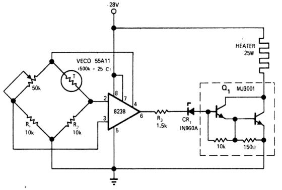Схема терморегулятора для водяного котла