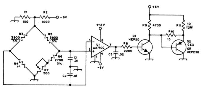 1.11 Схема терморегулятора
